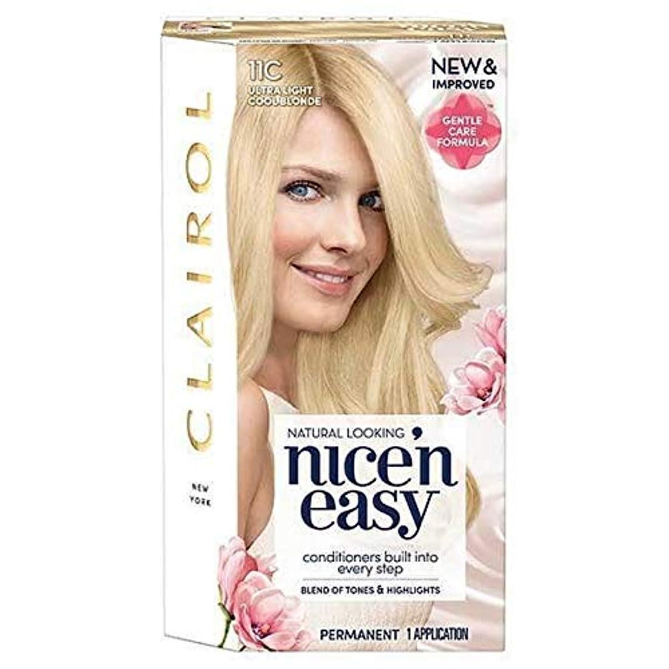 推定するビクター簿記係[Nice'n Easy] Nice'N簡単11Cは超軽量涼しいブロンド - Nice'n Easy 11C Ultra Light Cool Blonde [並行輸入品]