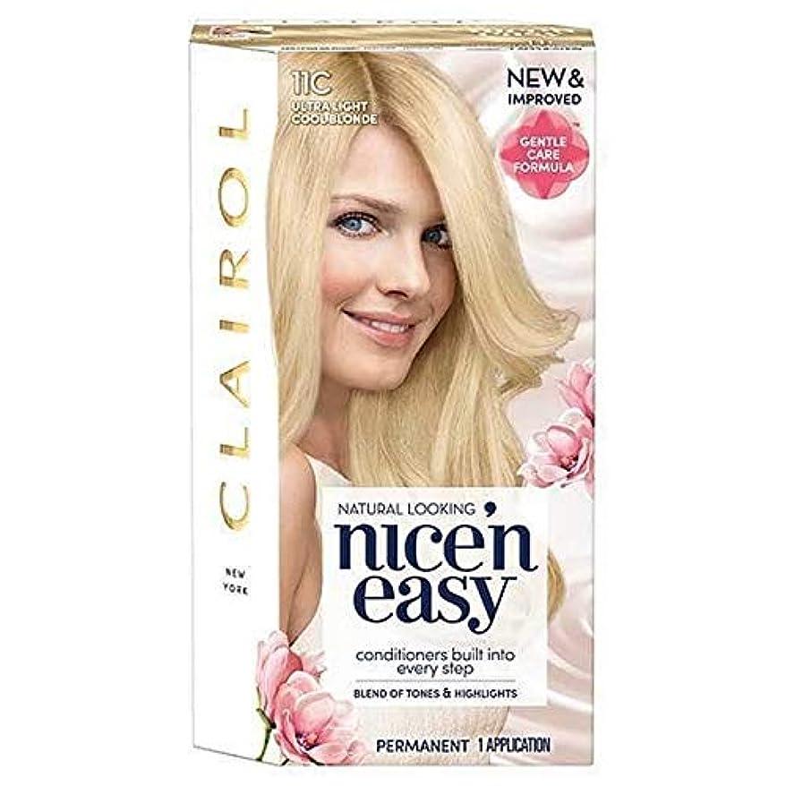 バルセロナ軍団無視できる[Nice'n Easy] Nice'N簡単11Cは超軽量涼しいブロンド - Nice'n Easy 11C Ultra Light Cool Blonde [並行輸入品]