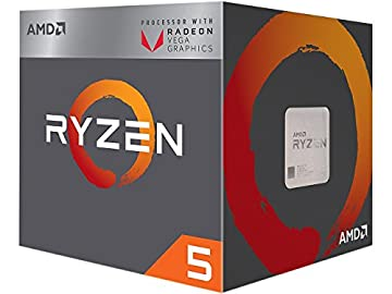 AMD CPU Ryzen 5 2400G with Wraith Stealth cooler YD2400C5FBBOX