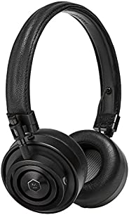 Master & Dynamic MH30 Wired On-Ear Headphones with Premium Leather Headband, Foldable Design and Memory Fo