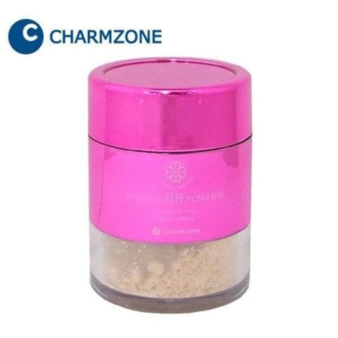 祈りクライマックス回路77種類の保湿成分配合パウダーでツヤ肌に チャームゾーン ナチュラルスキンエード ミネラルBBパウダー プレミアム 10g