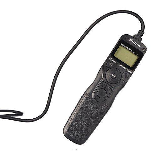 多機能タイマーリモートシャッターレリーズ制御ケーブルコード コマ送り MC-36B代替インターバロメーター ニコンカメラ用