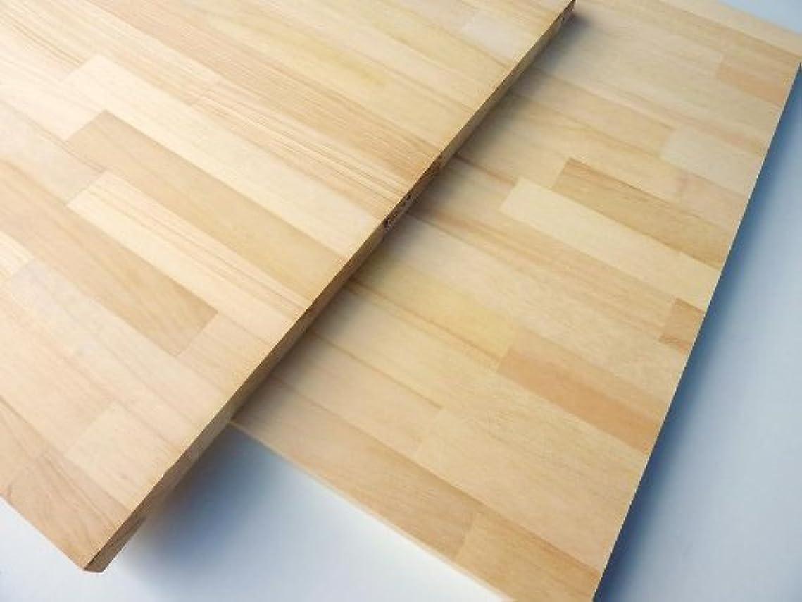 ペンダントたくさん刺しますパイン 集成材 1800×500×25ミリ(14kg)
