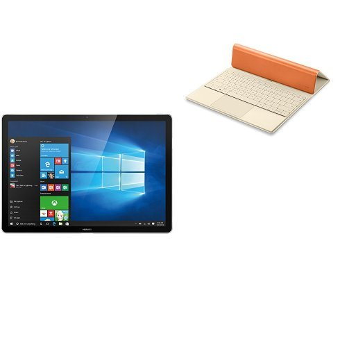 HUAWEI Matebook M5-4G-128G-5MP Gray + Portfolio Keyboard Orange セット