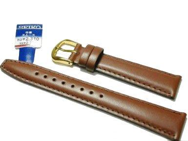 替えベルト セイコー(正規品) 牛革スムース切身はっ水ステッチ付 甲丸仕上げ カン幅:17mm DXJ6 [国内正規品] メンズ&レディース 時計関連商品 時計