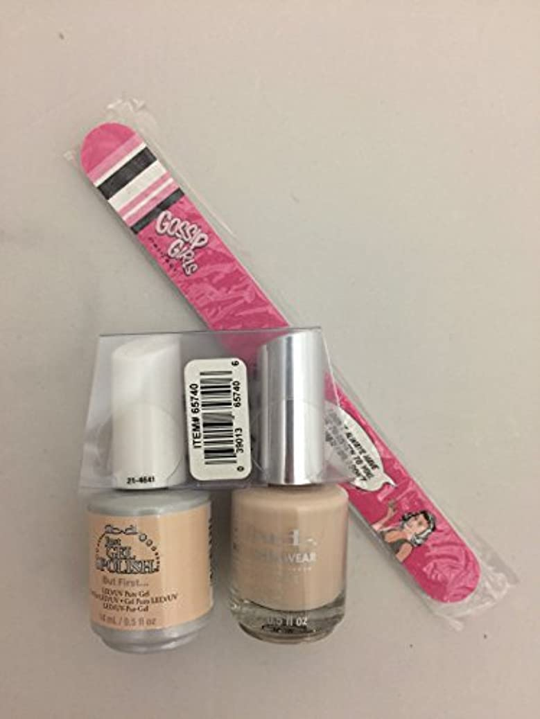 ibd - It's A Match -Duo Pack- Nude Collection - But First. - 14 mL / 0.5 oz Each