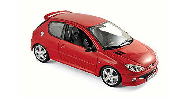 1:18 NOREV Peugeot 206 RC rot rouge red NEU NEW