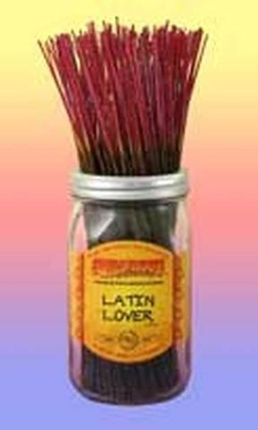 にやにや飼い慣らす雇用Wildberry Incense Latin Lover 100個
