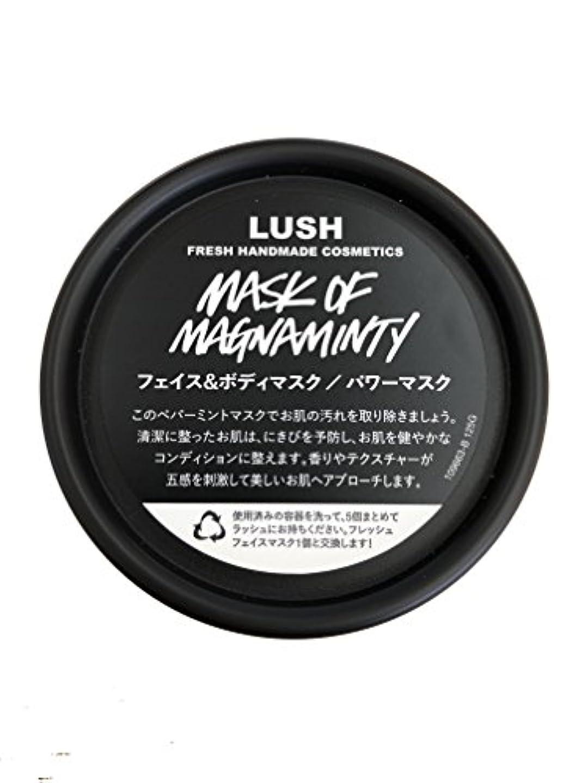 フレア支払う発明ラッシュ(LUSH) パワーマスク(125g)