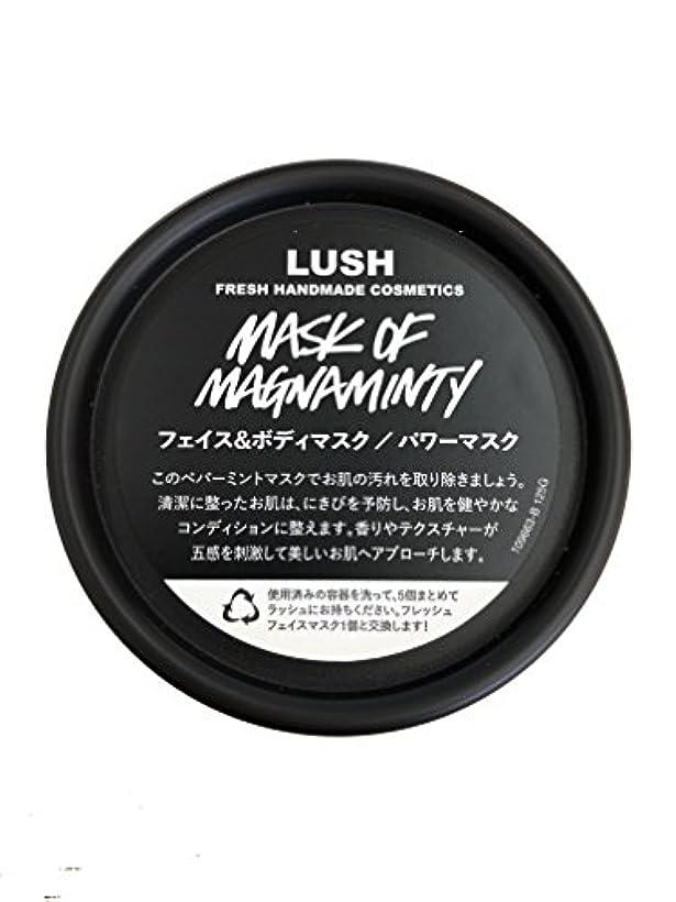 道路裁量生き返らせるラッシュ(LUSH) パワーマスク(125g)