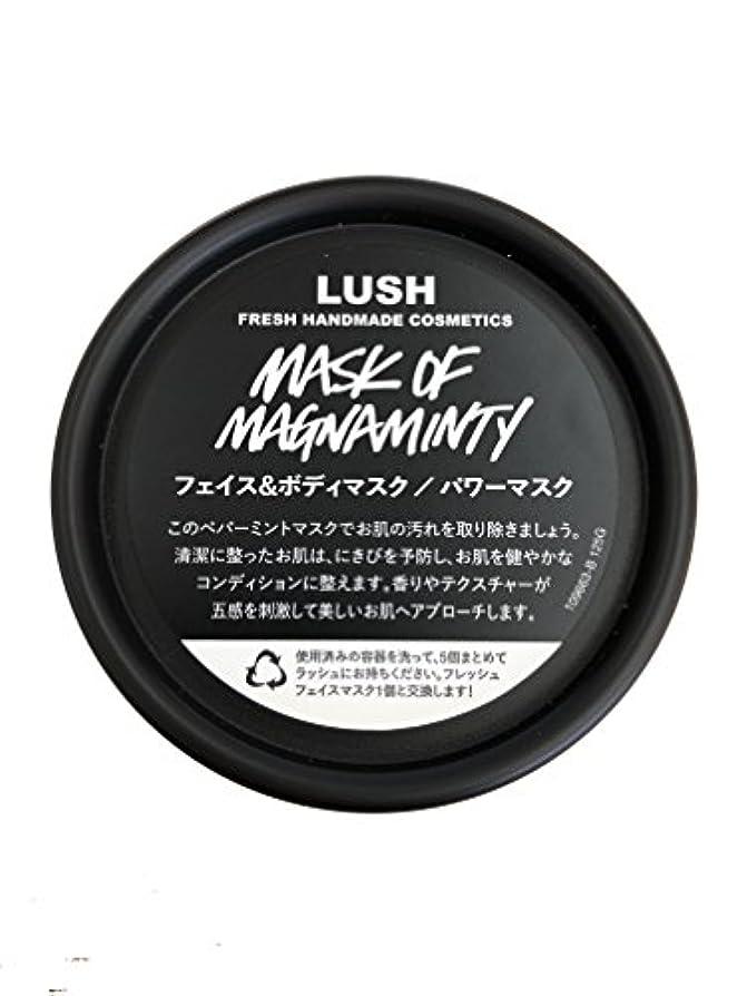 わかる上がる昼食ラッシュ(LUSH) パワーマスク(125g)
