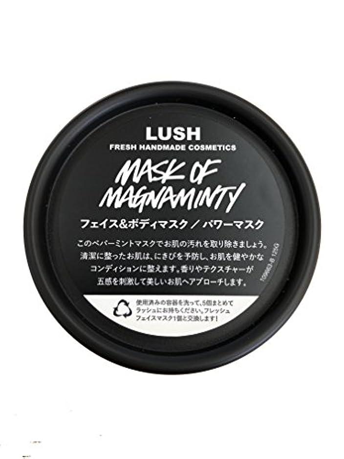ハグ申し立てる疾患ラッシュ(LUSH) パワーマスク(125g)