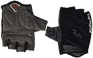 OGK KABUTO(オージーケーカブト) フィンガーレスグローブ SPG-6 ブラック/ブラック サイズ:S