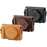 ソニー SONY デジタルカメラケース ジャケットケース ブラウン LCJ-HWA T