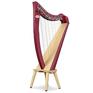 Salvi Harps イタリア製 小型レバーハープJuno(ジュノ) 25弦 マホガニー