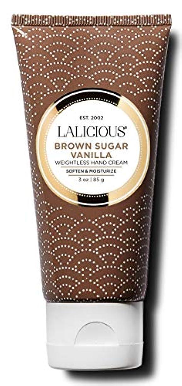 ズボンミルク無意味ハリウッドブランド ハリウッドブランド ラリシャス ハンドクリーム ブラウンシュガーバニラ 85g