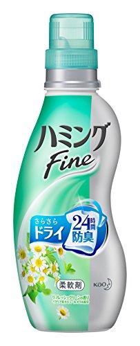ハミングファイン リフレッシュグリーンの香り 本体 570ml