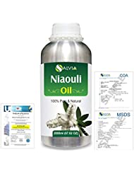Niaouli (Melaleuca Viridiflora) 100% Natural Pure Essential Oil 2000ml/67 fl.oz.