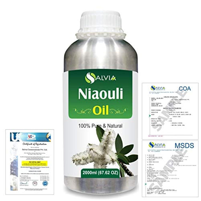 弾丸言い直す霜Niaouli (Melaleuca Viridiflora) 100% Natural Pure Essential Oil 2000ml/67 fl.oz.