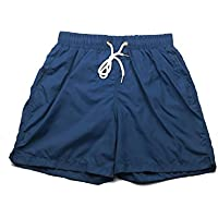 MUSON(ムソン)メンズ ST7034 海水パンツ サーフパンツ ショーツ 水着 無地 男性