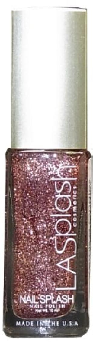 ホスト相談羽LASplash ネイルカラー 081G Sparkling Sand