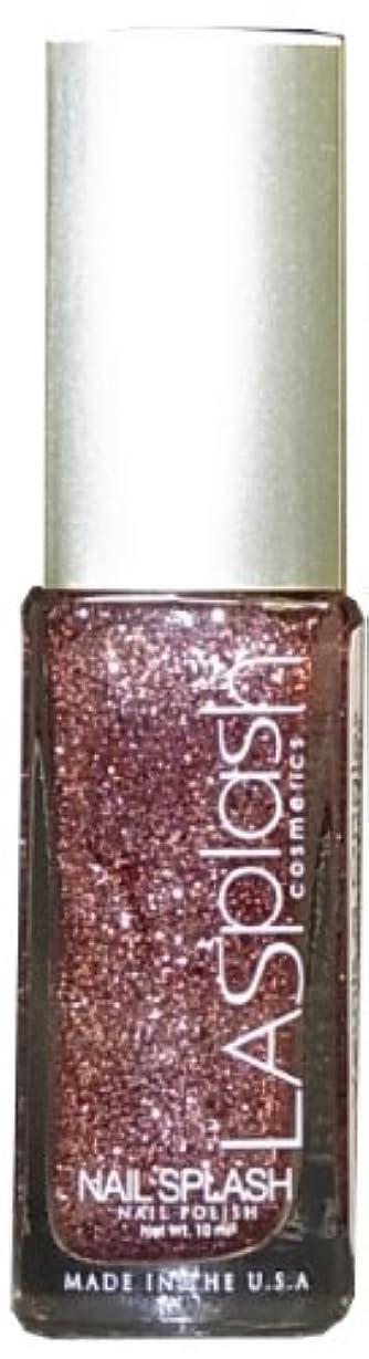 切り刻む三角色LASplash ネイルカラー 081G Sparkling Sand