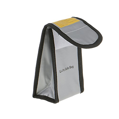 【ノーブランド品】DJI Phantom 3 4 対応 リポバッテリー用 安全/耐火/繊維ポーチ 袋ケース
