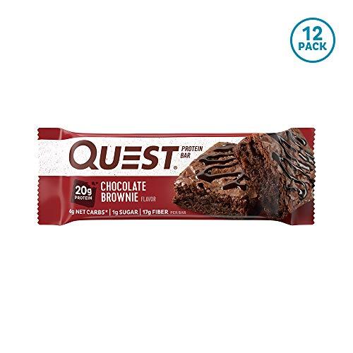 クエストニュートリション(Quest Nutrition) プロテインバー チョコレートブラウニー (60g x 12本) B0057RWSZQ 1枚目