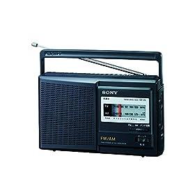 ソニー SONY ポータブルラジオ ICF-29 : FM/AM/ワイドFM対応 ICF-29