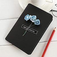 創造的なクラフト紙の花グリーティングカードマニュアルDiyギフトメッセージ小さなカード(10枚)10