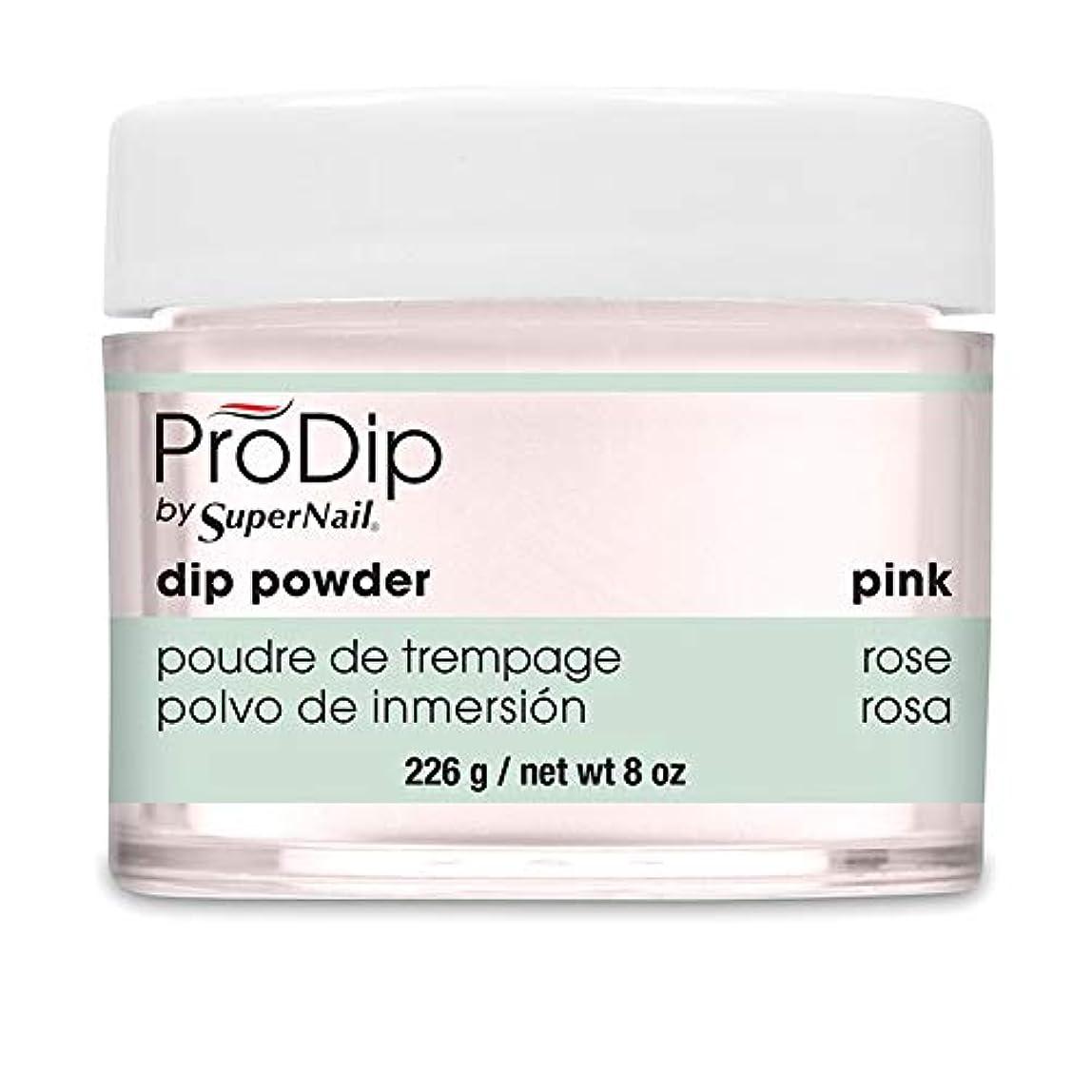 五十現像財産SuperNail - ProDip - Dip Powder - Pink - 226 g/8 oz