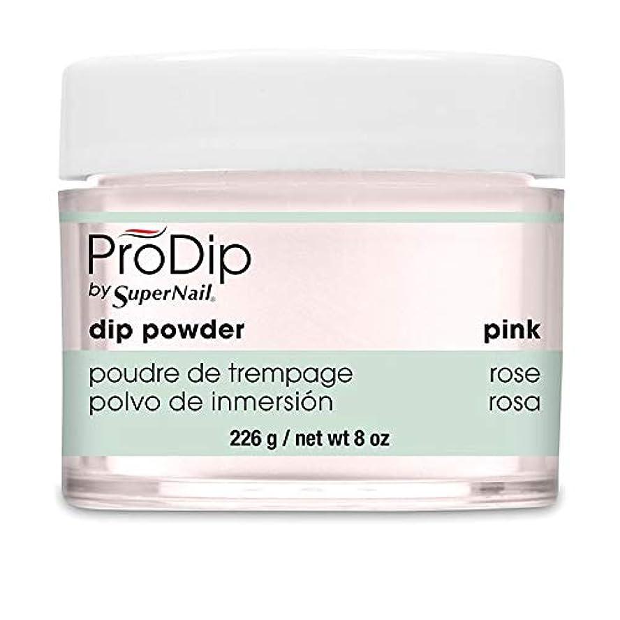 深くお互いビルダーSuperNail - ProDip - Dip Powder - Pink - 226 g/8 oz