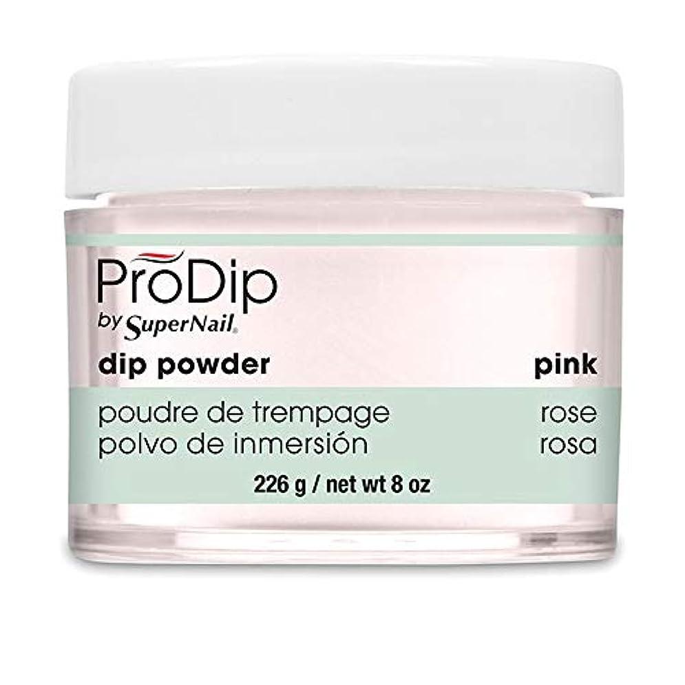 扇動する宗教的なより平らなSuperNail - ProDip - Dip Powder - Pink - 226 g/8 oz