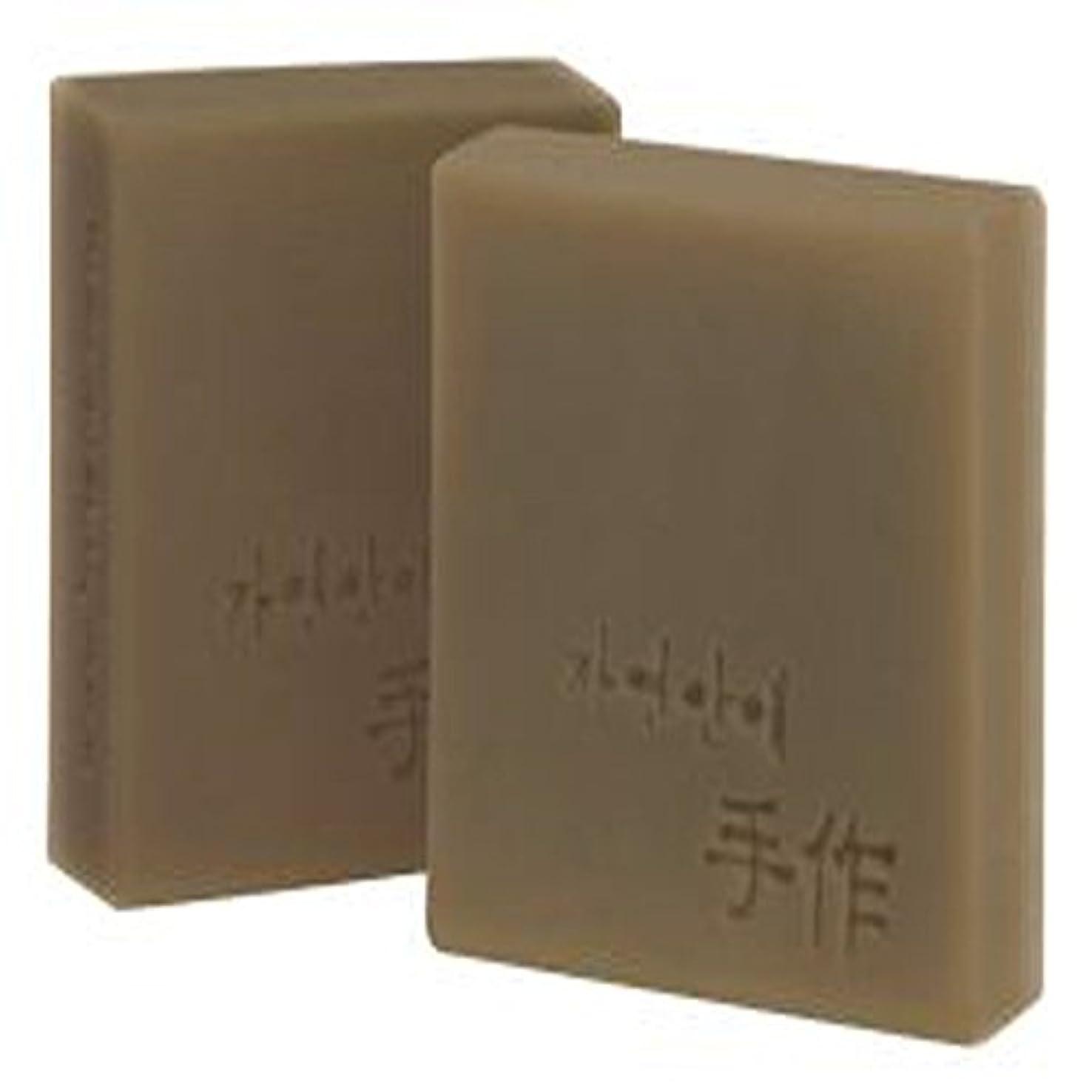 型宣伝トランスミッションNatural organic 有機天然ソープ 固形 無添加 洗顔せっけん [並行輸入品] (紅参)