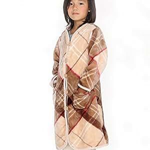 グルーニー Groony 2016ver 着る毛布 キッズサイズ キッズ 男の子 女の子 静電気防止 ベージュチェック