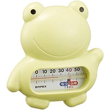 エンペックス気象計 温度計 うきうきトリオ 浮型湯温計 日本製 カエル TG-5146