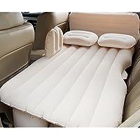 SUVインフレータブルマットレス車のトラベルベッドバックシートキャンプリアシート寝るエアマットクッションカーショックベッド