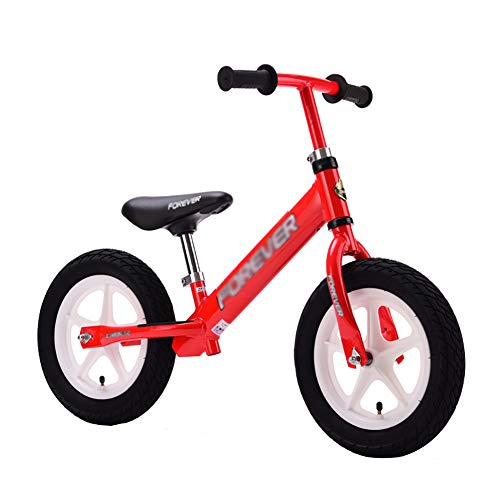 子ども用自転車 子供用バランスバイク(調節可能なシート&ハン...