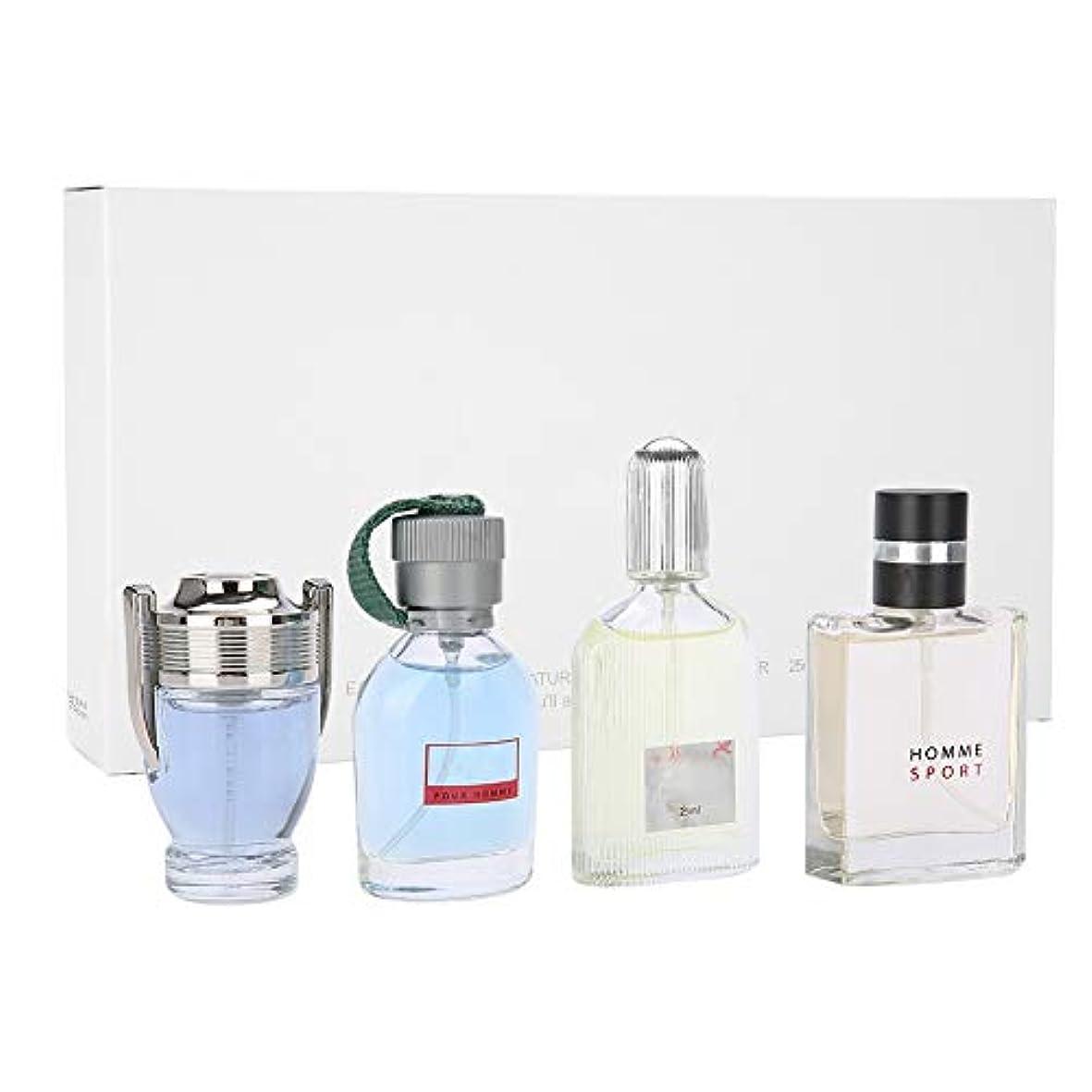 平均差し引く透明に男性フレグランスコロン香水セット、長持ちする新鮮な香水、クリスマス感謝祭バレンタインデーギフト