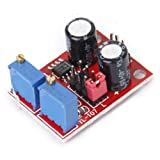 WINGONEER NE555 5V - 15V DC周波数デューティサイクル可変モジュール方形波信号発生器