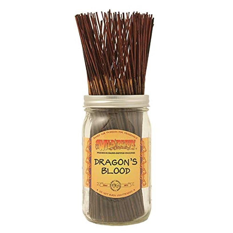ルーキー詳細に入浴Dragon's Blood - 100 Wildberry Incense Sticks