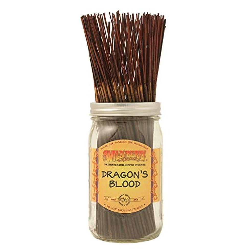 いじめっ子ほとんどの場合シャトルDragon's Blood - 100 Wildberry Incense Sticks