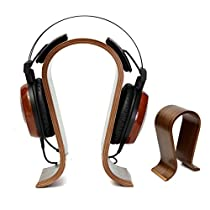 ELEGIANT ユニバーサル木製ヘッドフォンディスプレイスタンド ヘッドフォンスタンド 11