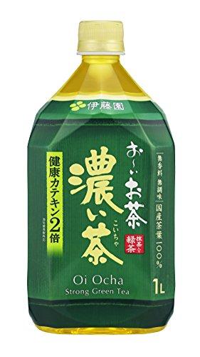 おーいお茶 濃い茶 ペット 1000mlx12本