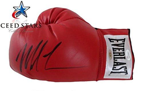 2011年 殿堂 マイク ・ タイソン 直筆 サイン 入り ボクシン・・・