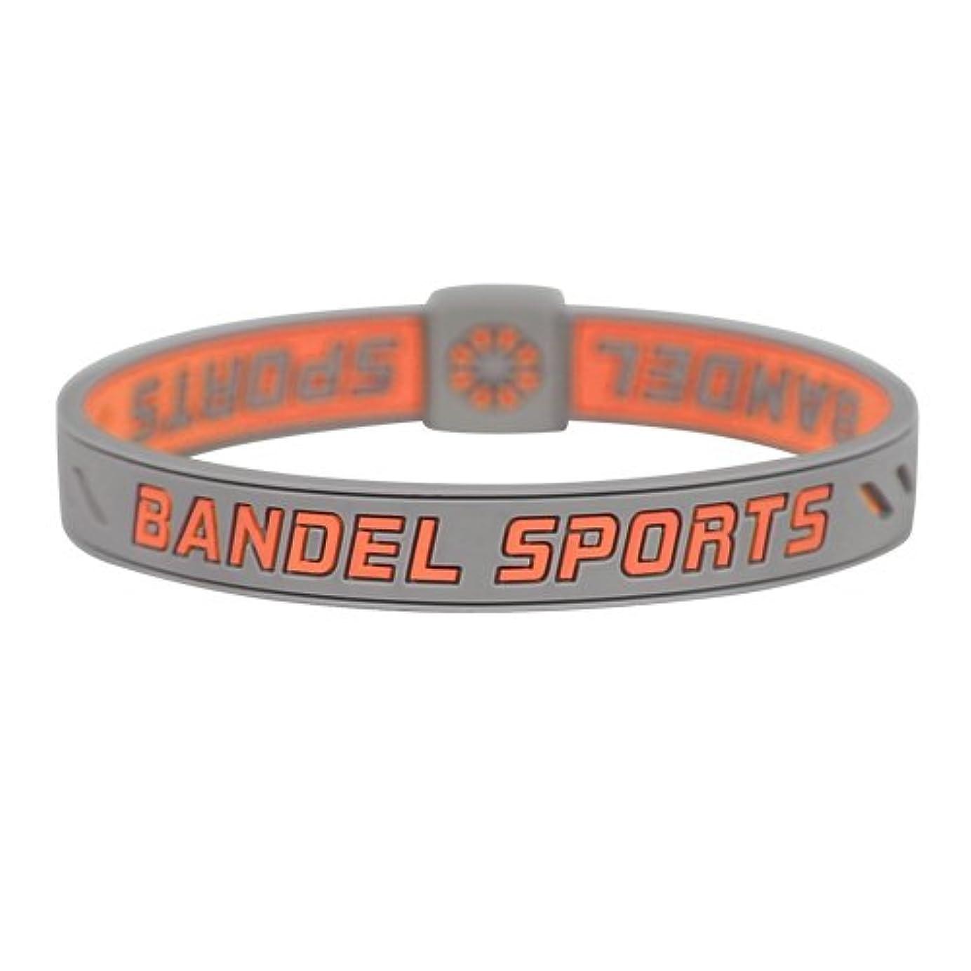 神経障害スロー不均一BANDEL SPORTS(バンデルスポーツ) ストリングブレスレット オレンジ×グレー S 2017年モデル