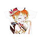 BanG Dream! ガールズバンドパーティ! 北沢はぐみ ハロー、ハッピーワールド! Ani-Art フルグラフィックTシャツ ユニセックス Mサイズ