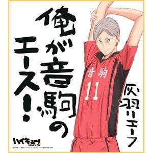 ハイキュー!! ビジュアル色紙コレクション2【灰羽リエーフ】単品