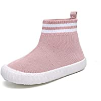Gungun Kids' Lightweight Sock Sneakers, Breathable Walking Shoes, Soft Sole (Toddler/Little Kid)