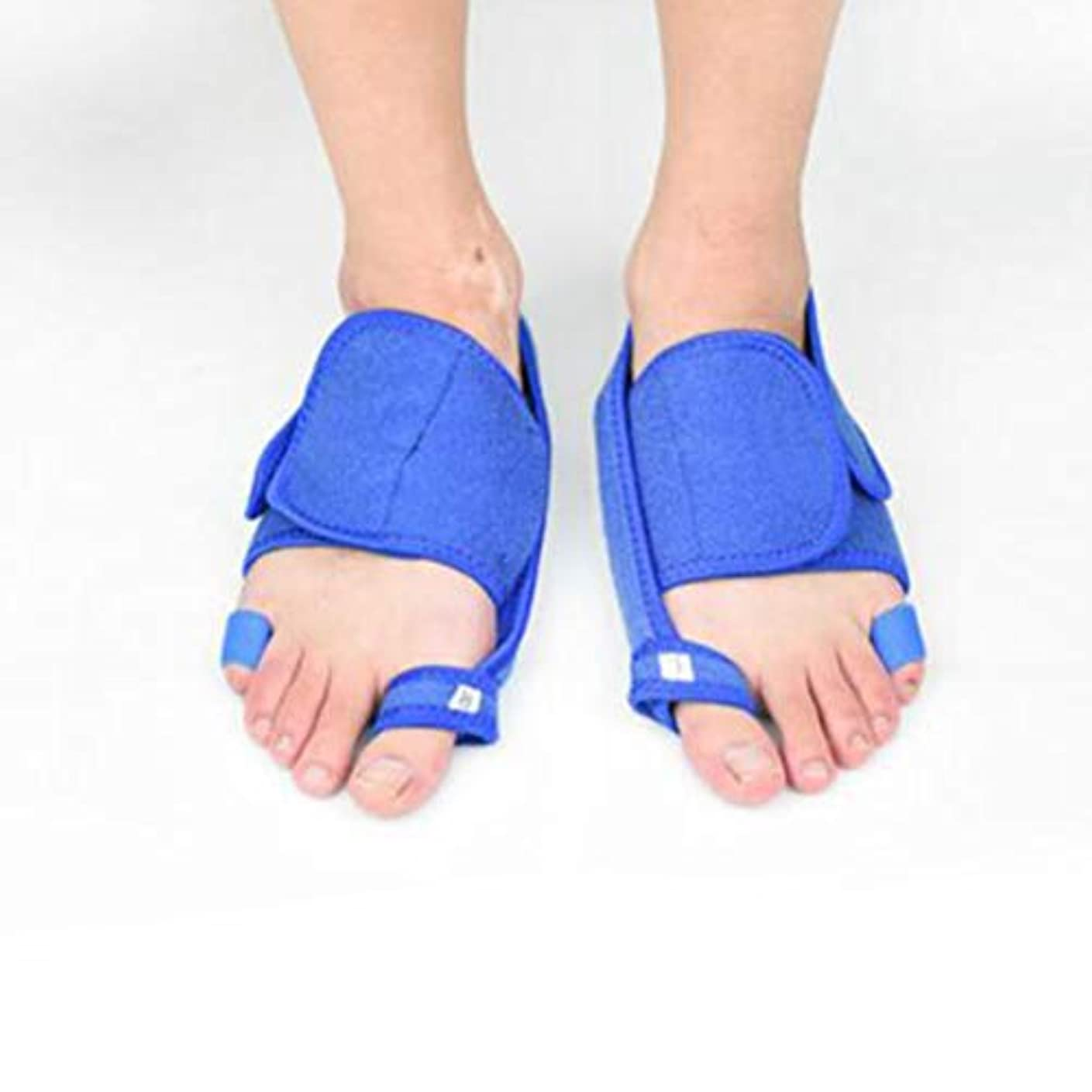 歩く枯渇するオーロックHEALLILY つま先セパレーター1ペアつま先補正バンド外反母painの痛みの救済のための腱膜瘤補正女性の男性のつま先の痛み治療のための外反矯正